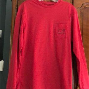 Vineyard Vines long sleeve whale t-shirt